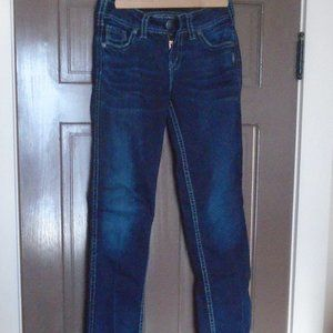 SILVER SUKI Mid Slim Boot Jeans W27/L33